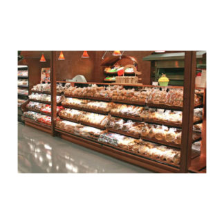 R&D Artisan Low Profile Bread Shelving